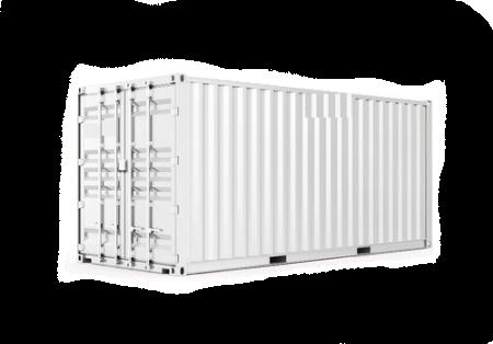 20-футовые контейнеры на фото