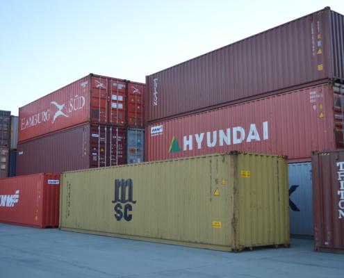 Морские контейнеры для грузоперевозок