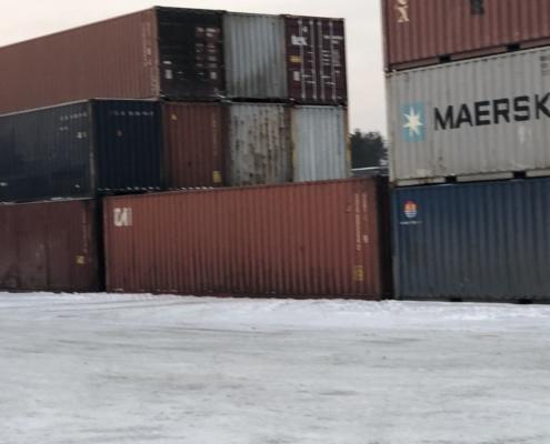 цвет морского контейнера на фотографии