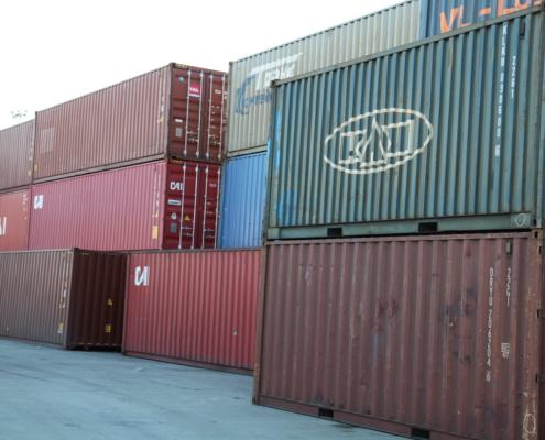 фото контейнерного терминала