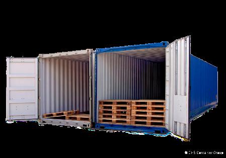 Контейнерные перевозки Pallet wide контейнером