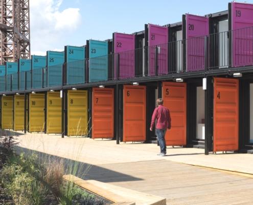на фото производство контейнеров для сооружений