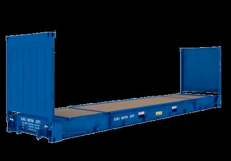 контейнерные перевозки Flatrack контейнером