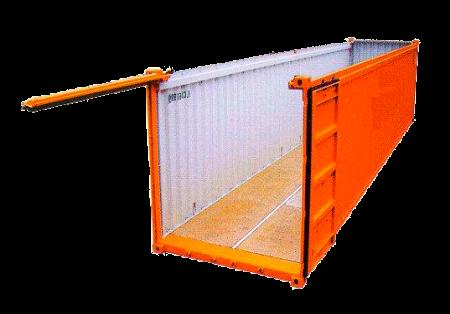 Контейнерные перевозки open top контейнером