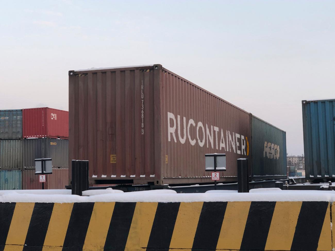 Грузовой контейнер в Красноярск