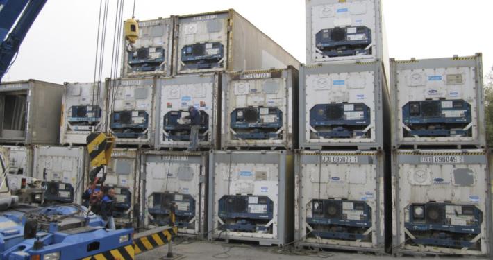 перевозки рефрижераторных контейнеров