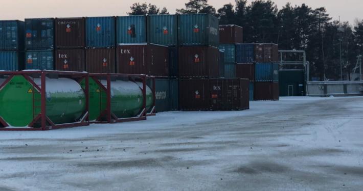 контейнерный терминал в Перми