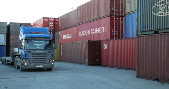 автомобильная контейнерная перевозка в Челябинск
